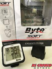 Ciclocomputer contachilometri Wireless Bici Bicicletta MTB BYTE Soft Atala Nero