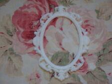 NEW! Ornate Oval Scroll Frame Furniture Applique Architectural Frame