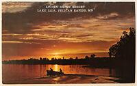 Lida, Linden Shore Resort, Pelican Rapids, Minnesota MN Postcard - June 16, 1977