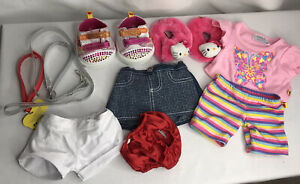 Lot BABW pajama Hello Kitty Slipper Skirt Twinkle Toe Shoes Leashes
