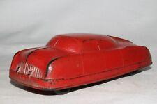 Auburn Rubber 1949 Futuristic Car, Red, Original