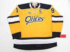 DYLAN STROME ERIE OTTERS OHL NEW HOME YELLOW CCM PREMIER 7185 HOCKEY JERSEY
