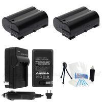 EN-EL15 Battery x2 + Charger for Nikon D7000 D600 D800 D800E  1 V1