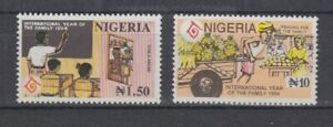 Nigeria 623/24 Year of The Family (MNH)