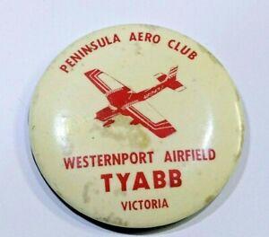 PENINSULA AERO CLUB TYABB BADGE / PIN