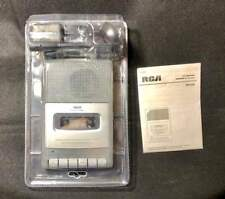 RCA Portable Recorder Cassette Player Built In + External Microphone RP3504