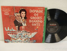 BOB BOOKER & GEORGE FOSTER Beware of Greeks Bearing Gifts 1968 Musicor MXS-3173