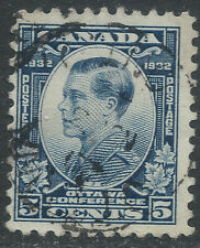 Canada #193(6) 1932 5 cent blue Prince of Wales (Edward) Used CV$4.00