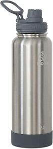 Takeya Actives Insulated Stainless Steel Water Bottle with Spout Lid, 40 oz