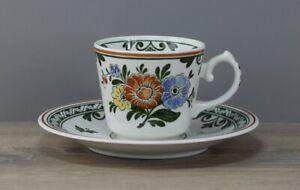 Villeroy & Boch V&B Alt Amsterdam Kaffeetasse Tasse mit Untertasse -- 2teilig