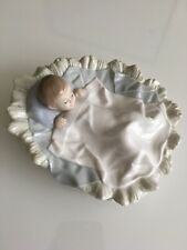 NAO LLADRO Baby In A Blanket 1985