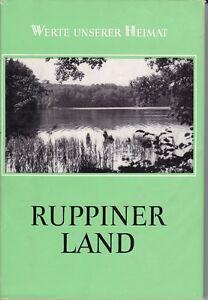 Werte unserer Heimat, Ruppiner Land, Band 37, 1981, mit Karte/Neuruppin Lindow