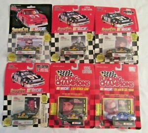 Lot of 6 Rusty Wallace #2 -91' 94' 95' 95'Preview 96' 97' 1/64 Racing Champions