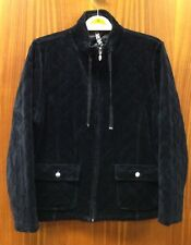 Dash Black Quilted Style Jacket Size 16 Bust 38""