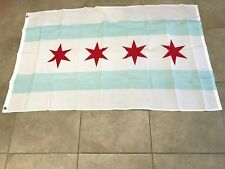 3x5 City of Chicago Flag 3'x5' House Banner grommets super polyester-On Sale!