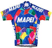 MAPEI RETRO VINTAGE CYCLING TEAM BIKE JERSEY