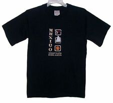 Sz M T-Shirt HUATULCO ROYAL MAEVA MEXICO Embroidered Navy Cotton by YACHT CLUB