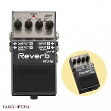 BOSS RV-6 Reverb Expression Pedal Effector 8- Effects from Japan w/ Tracking
