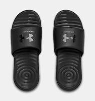 Under Armour Men's UA M Ansa Fix Slide Sandals - Black 3023761-003