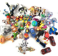 Lot of 50+ 1990's-Newer Fast Food Toys - McDonald's Happy Meal, BK, Wendys,