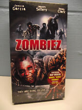 NEW SEALED Zombiez VHS 2004 Horror Gore Zombies featuring Daniel Demo Thomas Rap