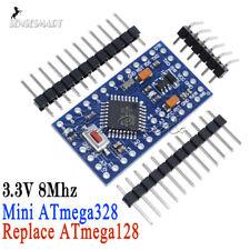 Mini ATMEAG328 3.3V 8Mhz Replace ATmega128 for Arduino Pro Mini Compatible