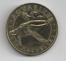 17 Charente Mar La Rochelle Aquarium La Tortue   2007  Médaille Monnaie de Paris