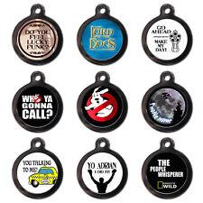 PERSONALISED PET TAGS - Movie TV Film - Dog Cat ID Tag -Engraved FREE-Metal Disc