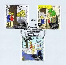 BRD 2014: Hänsel und Gretel Wohlfahrtmarken Nr 3056-3058 Bonner Stempel! 1901