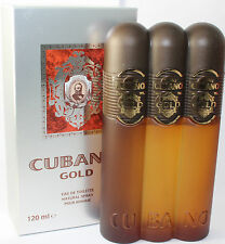 Cubano Gold 4.0 oz. Edt Spray For Men New In Box