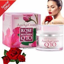New Biofresh Anti Age Cream Rose of Bulgaria Q10 Regenerative Moisturising 50 ml