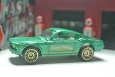 Matchbox '65 Ford Mustang GT - Green - Loose - 1:64 - Christmas Holiday