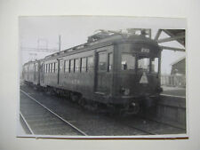 JAP531 - 1951 K.T. RAILWAY Co - ELECTRIC TRAIN No2113 PHOTO - Tokyo Japan