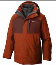 Columbia Men's Rural Mountain II - 3 in 1 Interchange Omni Heat Jacket -Sienna M