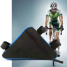 Triangle Cycling Bicycle Front Tube Pouch Bag Holder Saddle Pannier Hot BL&BU UP