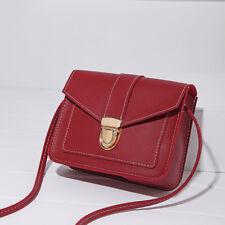 Womens Faux Leather Fashion Messenger Handbag Shoulder Cross Body Bag Purse