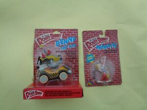 Who Framed Roger The Rabbit and Bennie the Cab Toy - LJN - Set of 2 - N.O.S.