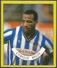 PANINI FOOTBALL 88-#261-GUESS WHO?-COVENTRY CITY-CYRILLE REGIS