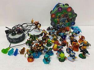 Skylanders Huge Bundle Figures Characters Bag Portal Job Lot A25
