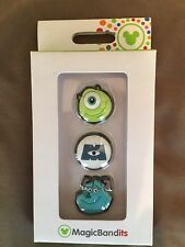 Disney Parks Magic Band Fast Pass Bandits Monsters Inc. Mike Sully Pixar - NEW