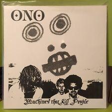 "ONO – ""Machines That Kill People"" LP NEW"
