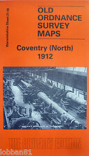 Old Ordnance Survey Map Coventry (North) Warwickshire 1912  S21.08 New Map