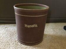 Vintage Harrah's trash can