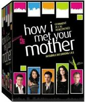 COFFRET DVD SERIE COMEDIE : HOW I MET YOUR MOTHER : SAISONS 1 A 5 + LIVRE DRAGUE