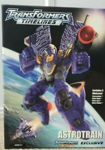 Transformers Collector's Club Astrotrain• Shattered Glass Astrotrain TFCC SG NEW