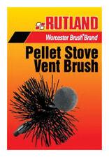 "New! Rutland Pellet Stove Vent Brush 4"" Round Ps-4 Free Shipping"