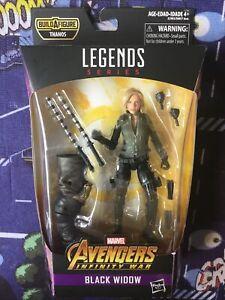 Hasbro MARVEL LEGENDS Black Widow BAF Thanos MSIB Action Figure