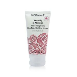 NEW Derma E Rosehip & Almond Protecting Shea Hand And Cuticle Cream 56g Womens