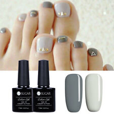 2pcs UR SUGAR Grey UV Gel Polish Kit Nail LED Lamp Gel Varnish Manicure 7.5ml