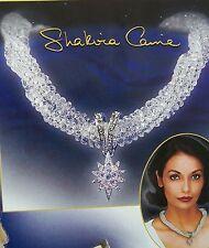 New 1999 $200 Franklin Mint Millennium Star Crystal Necklace